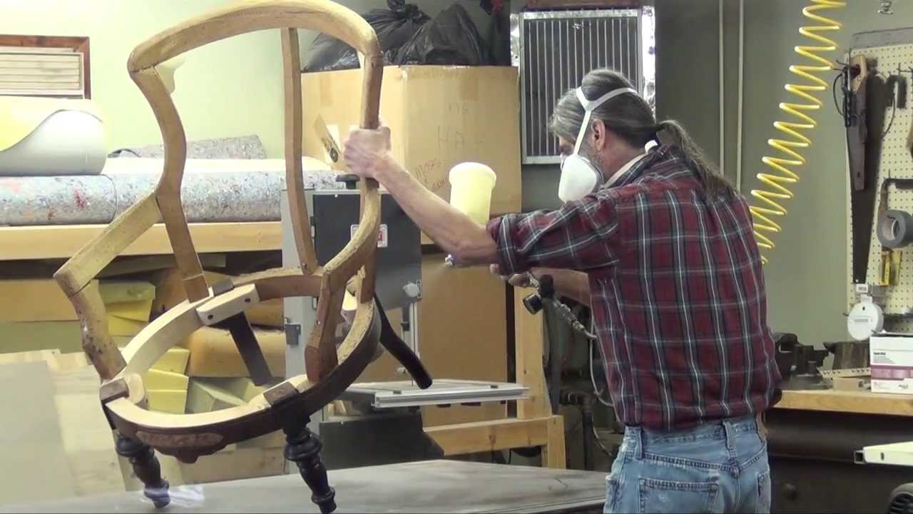 1870 39 s victorian chair restoration part 3 youtube for Where can i buy vintage furniture