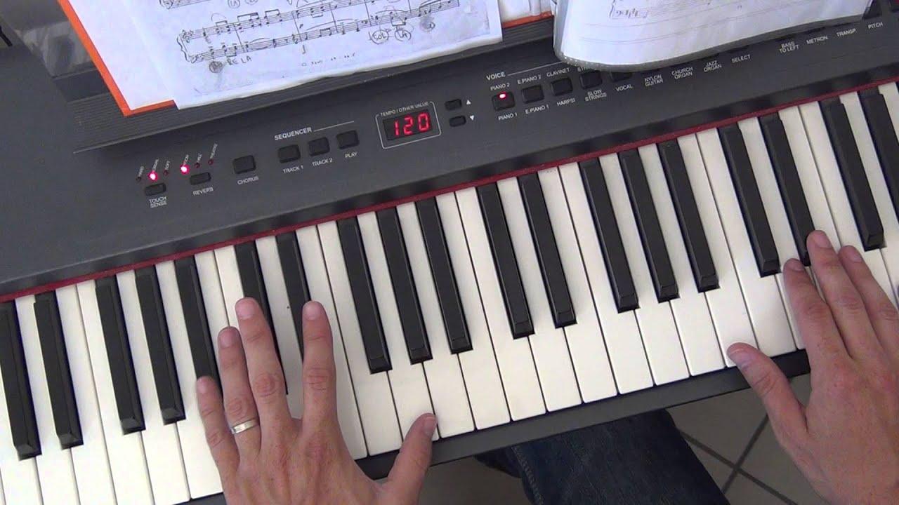 Marcia nuziale wedding march wagner piano tutorial for Crea il mio piano personale gratuito