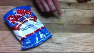 Nearly Empty Bag of Ruffles Original