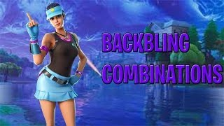 Fortnite Volley peau de fille et combos backbling