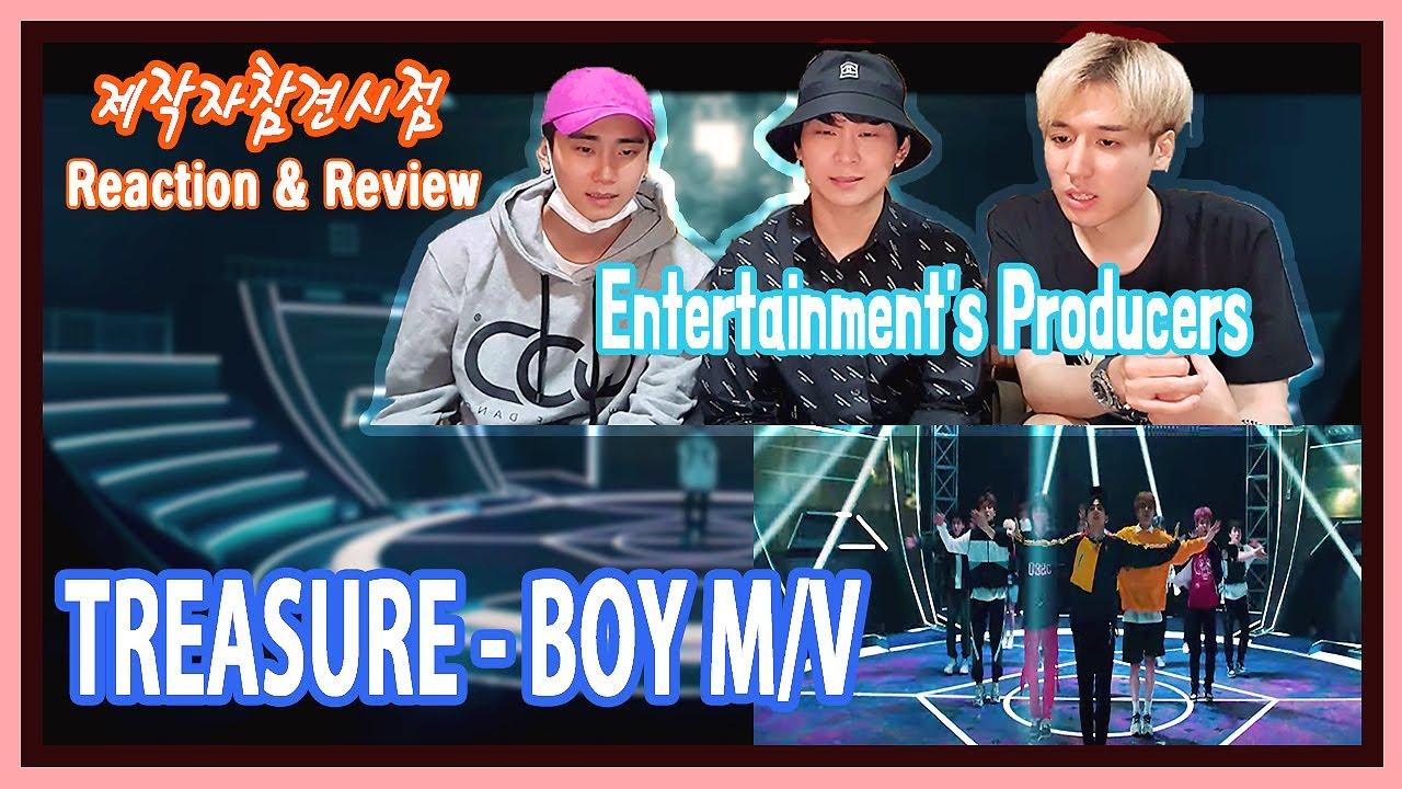 (Eng) 실제 엔터 제작자들은 YG의 대형신인을 어떻게 볼까? TREASURE(트레저) BOY 뮤직비디오 리액션&리뷰