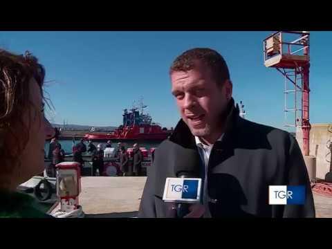 Stefano Vignaroli: spralluogo nella rada di Augusta con la Commissione Ecomafie