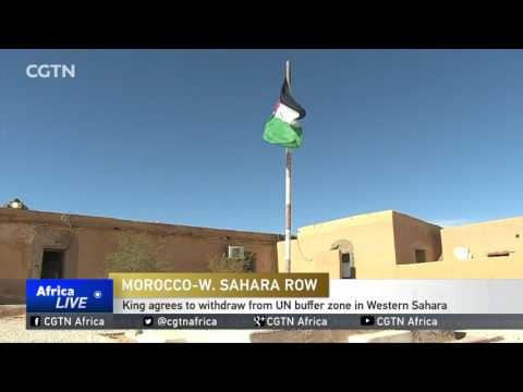 Moroccan King agrees to withdraw from UN buffer zone in Western Sahara