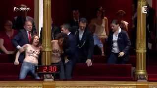 Les Femen envahissent le sénat