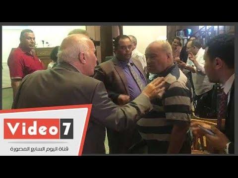 مشادات كلامية بين العاملين بالقومية وأعضاء بالبرلمان بحزب التجمع  - 18:54-2018 / 9 / 30