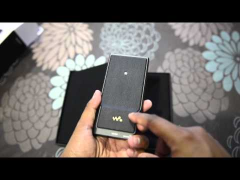 Sony NW-ZX2 Unboxing and Quick Review