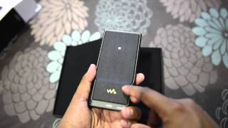 sony nw zx2 unboxing and quick review