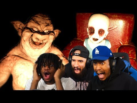 RANDOM HORROR Games With RICO THE GIANT & PG