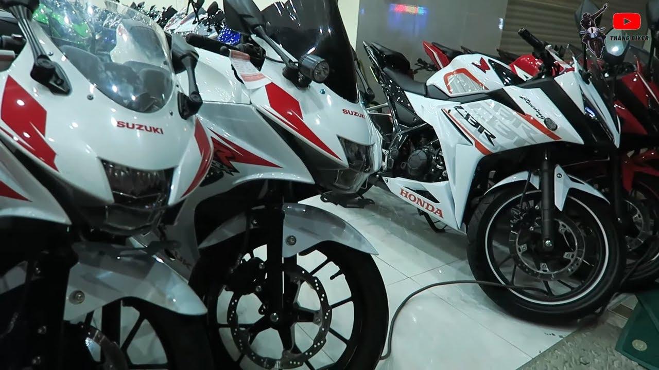 Moto 150cc Màu Trắng Ngọc Trinh Mới Về ,CBR150R ,R15V3,GSX,R150,CB150R | Thắng Biker