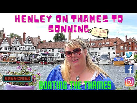 #94 - Boating On The River Thames: Henley To Sonning