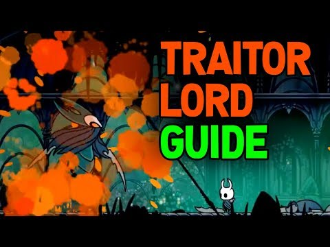 Hollow Knight- How To Find And Beat The Traitor Lord Boss