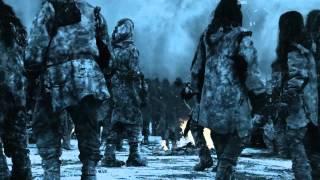 Белые Ходоки атакуют Суровый дом (отрывок)