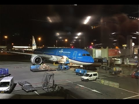 Boeing 787-9 Dreamliner KLM Business Class   Amsterdam (AMS) - Cairo (CAI)   Review (HD)