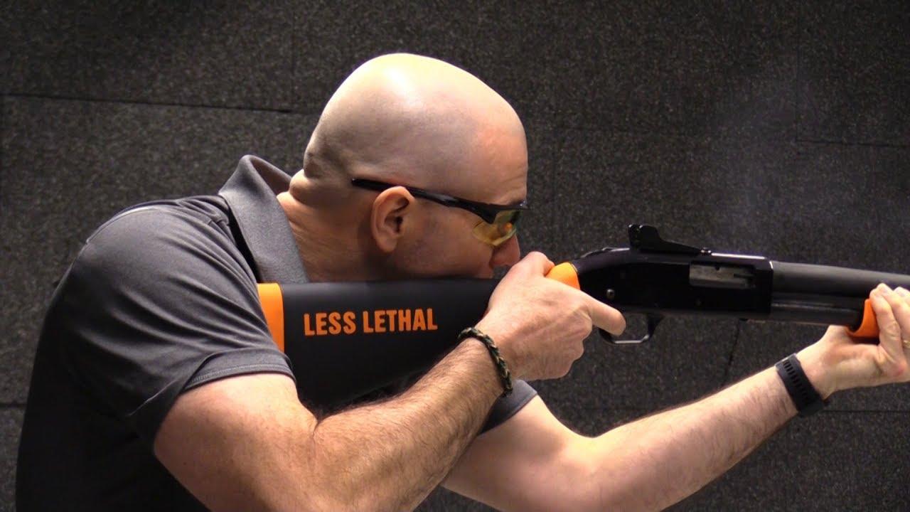 Beanbag Shotguns Provide Less Lethal