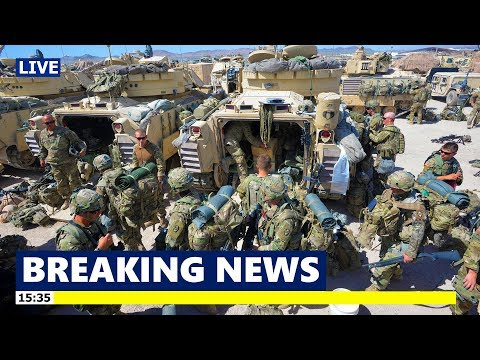 The US Army deployed for Operation Hickory Sting Most Current Combat Exercise at NTC