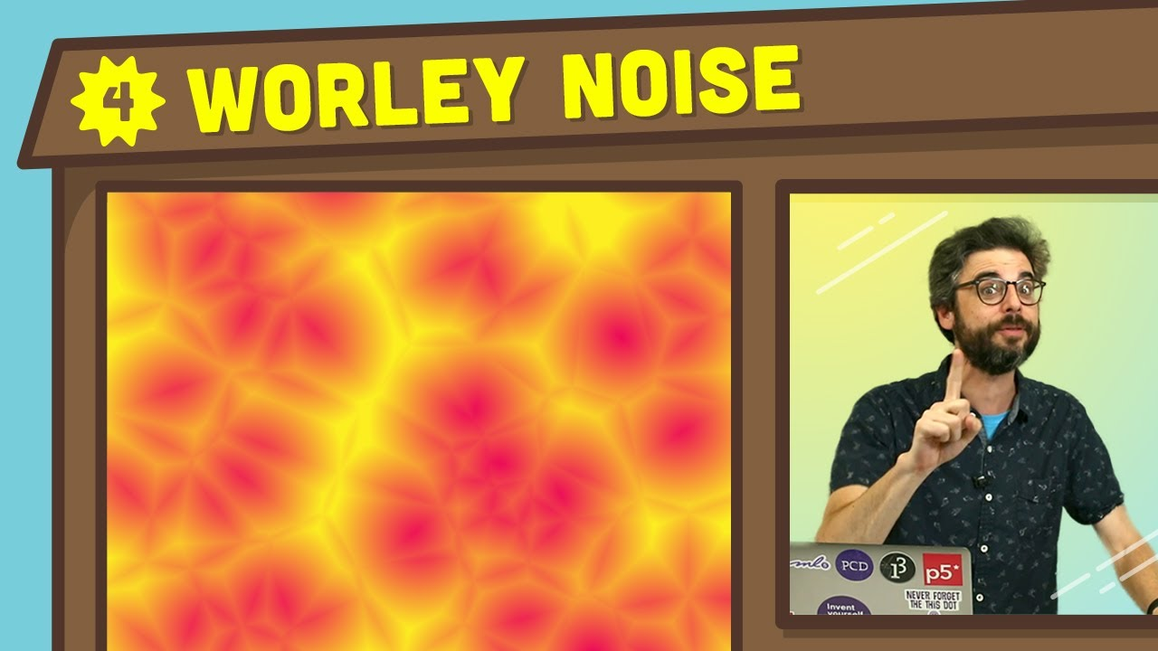 Coding in the Cabana 4: Worley Noise