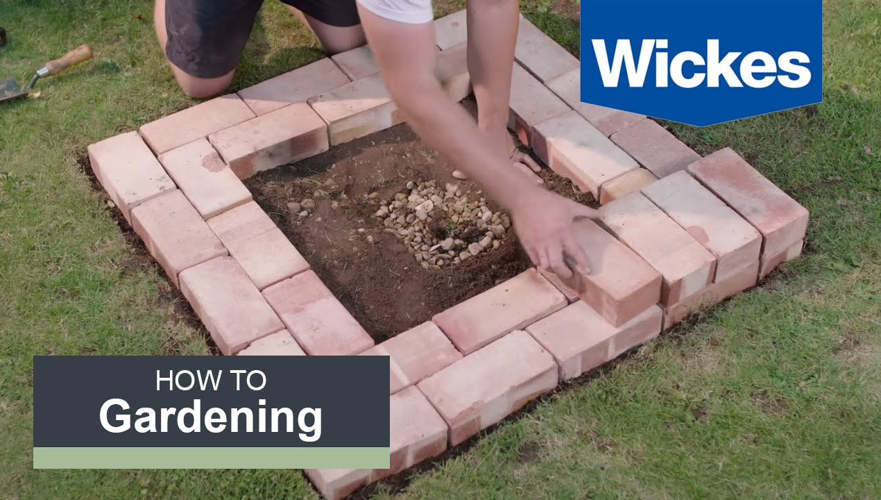 How To Build A Fire Pit With Wickes Youtube