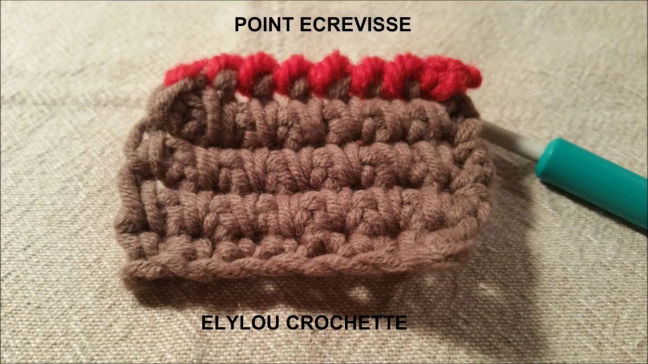 comment faire le point d ecrevisse au crochet