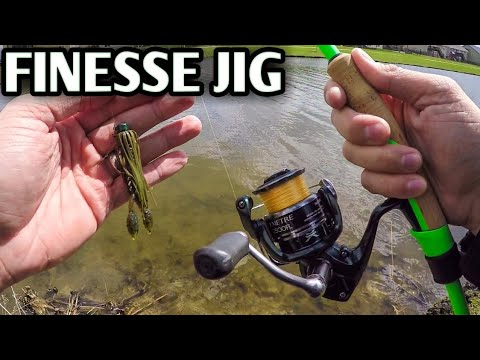 Z-Man Micro Finesse Jig (Great Jig for Beginners) *SPRING BASS FISHING*
