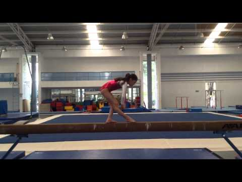 Age Group Programme – Women's Artistic Balance Beam - High Performance Compulsory 1