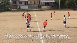 Atletico colombia vs municipal puerto colombia - torneo liga futbol atlantico cat 2001 elite - 0906