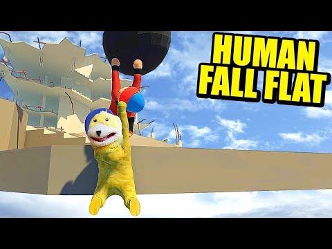 EL COOP MÁS DIVERTIDO - HUMAN FALL FLAT (ERIC) | Gameplay Español