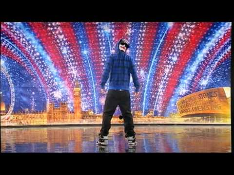 Видео, Tobias mead  Britains Got Talent 2010  street dance