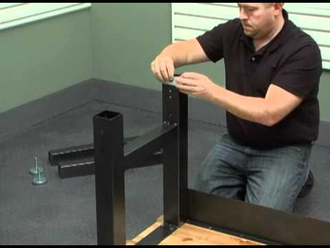 Assembly Instructions For The GladiatorR 6ft Adjustable Workbench