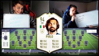 Absolut verrückte 94 Icon PIRLO in FIFA 19 Squad Builder Battle Prognose! - Fifa 18 Ultimate Team