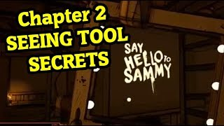 Скачать Bendy And The Ink Machine Chapter 2 SEEING TOOL Bendy Chapter 5 Secret
