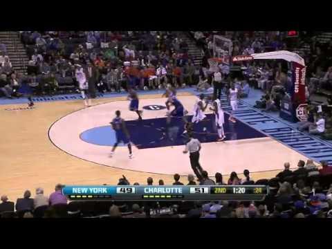 New York Knicks vs. Charlotte Bobcats Full Highlights 5 December 2012
