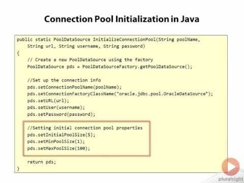 03 04 Using A Connection Pool In Java