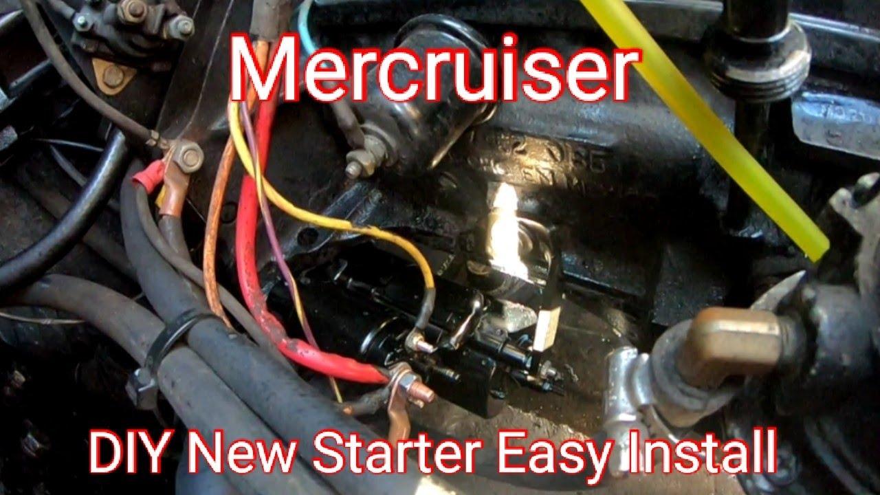Mercruiser Starter Wiring Diagram   Wiring Diagrams Long bear dish ...