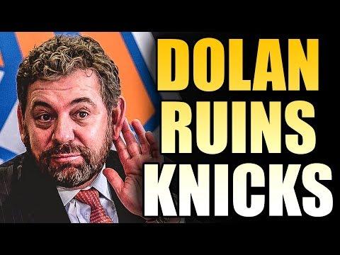 Knicks Owner James Dolan Makes A Fool Of Himself On TV Mp3