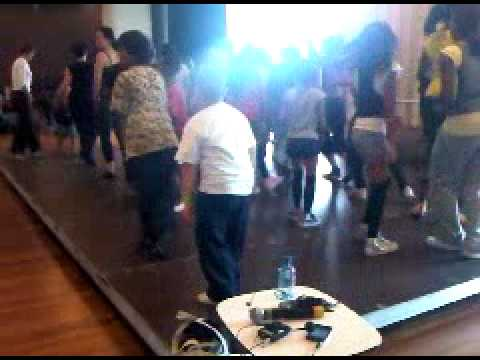 Dance Mob Workshop Jermaine Nelson