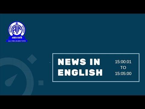 English News at 3 PM