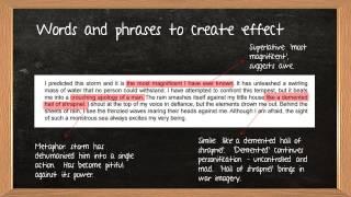 iGCSE English Language Question 2 Revision Tips
