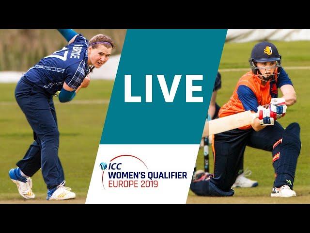 LIVE CRICKET: ICC Women's Qualifier Europe 2019 - Scotland vs Netherlands. Match starts 15.30 CET