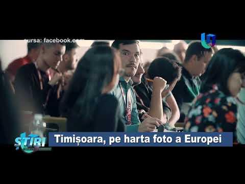 TeleU: Timișoara, pe harta foto a Europei