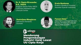 Mendorong pengembangan industri halal lewat UU Cipta Kerja