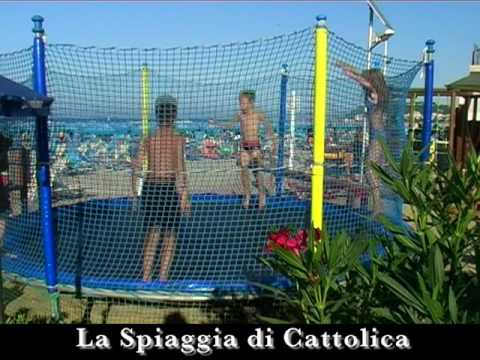 Beach village cattolica spiaggia hotel con piscina youtube - Hotel con piscina cattolica ...
