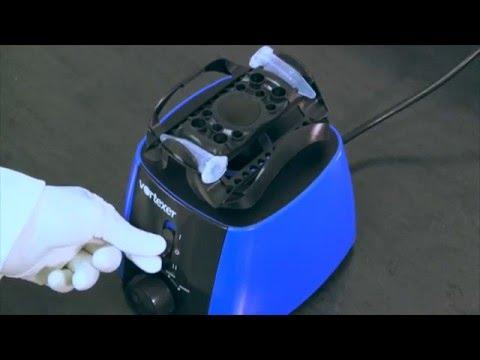 Vortexer - One Mixing Head Accommodates Multiple Tube Sizes