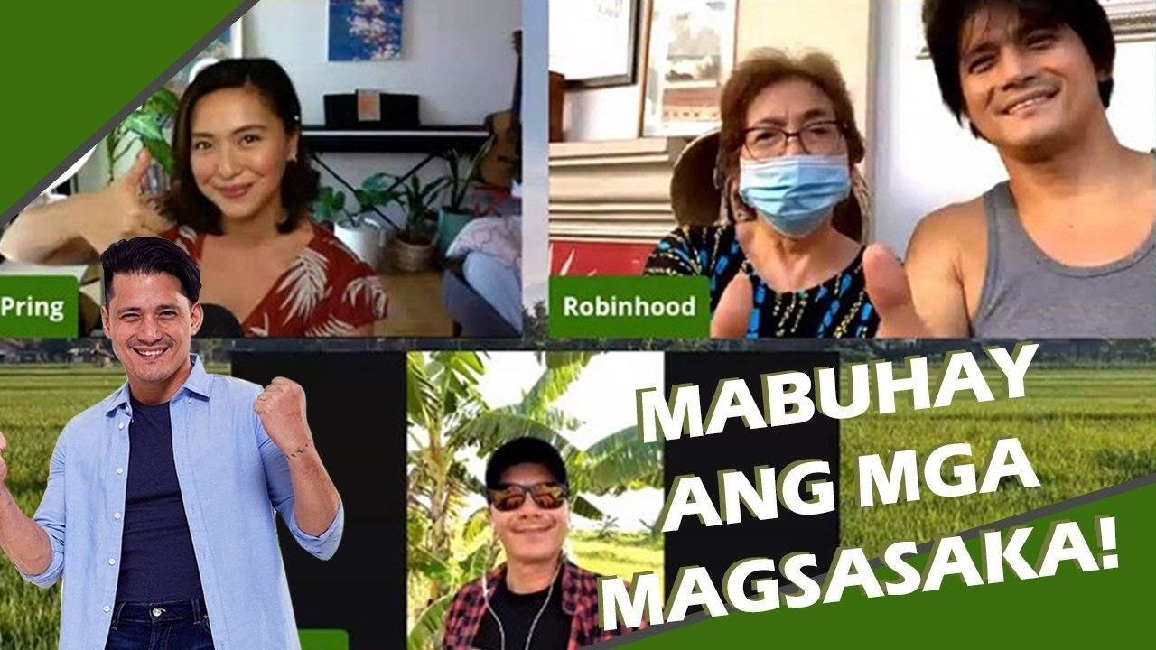 Usapang Magsasaka with Idols