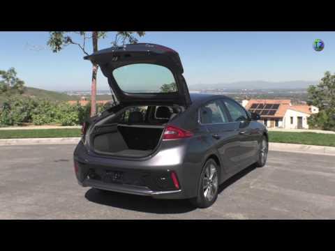 2017 Hyundai Ioniq Plug in Hybrid Electric Vehicle Exterior & Interior Design
