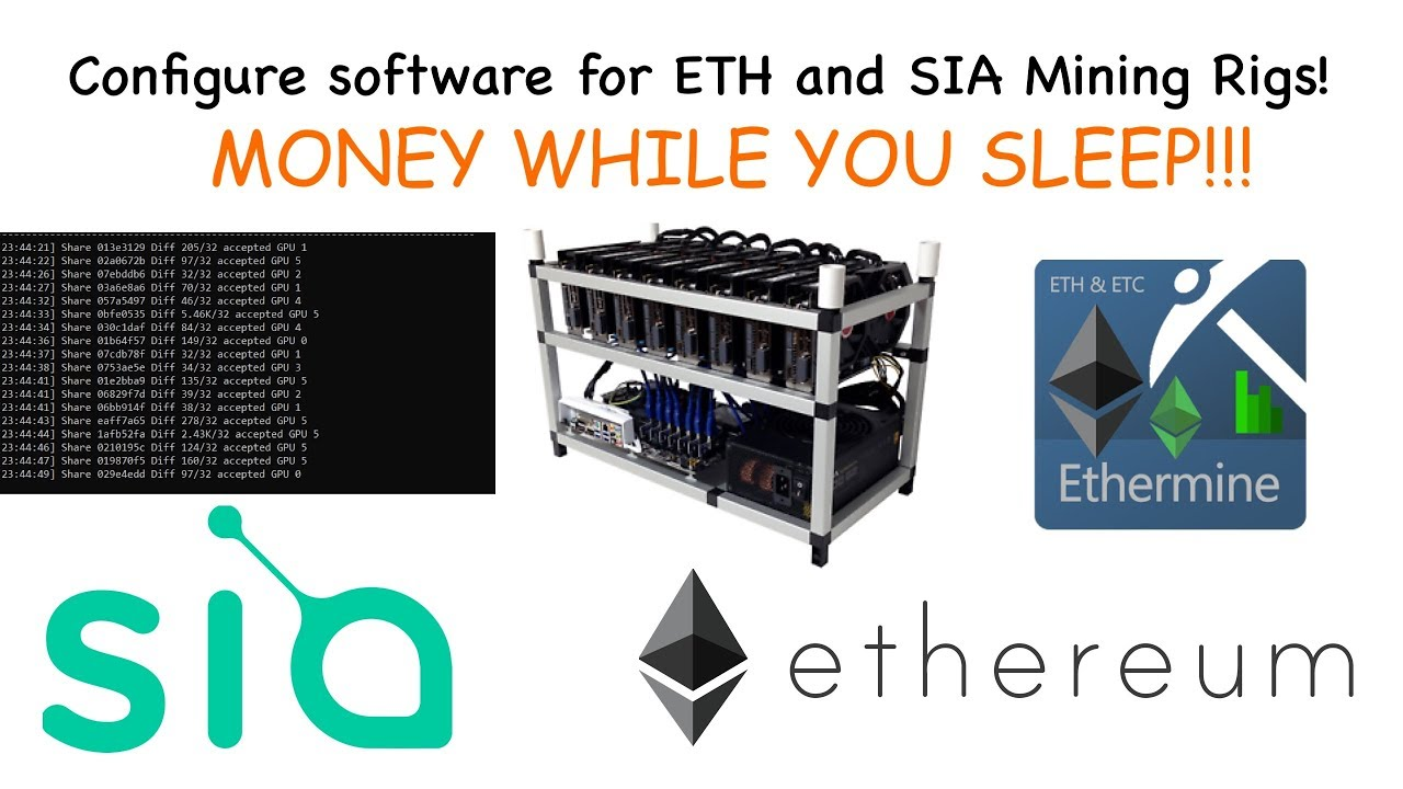 Help Setting Up Ethereum Mining Rig Mining For Sia Coin – Produmin