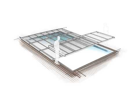 Abri piscine plat azenco youtube for Abris piscine plat