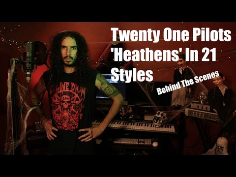 Twenty One Pilots - Heathens in 21 Styles (Behind The Scenes)