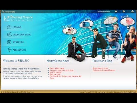 FINA 200 – Personal Finance