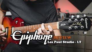 EPIPHONE LES PAUL STUDIO LT    REVIEW