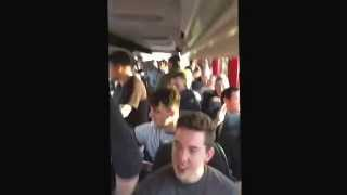 Man United fans chant about Adam Johnson. Newcastle away.